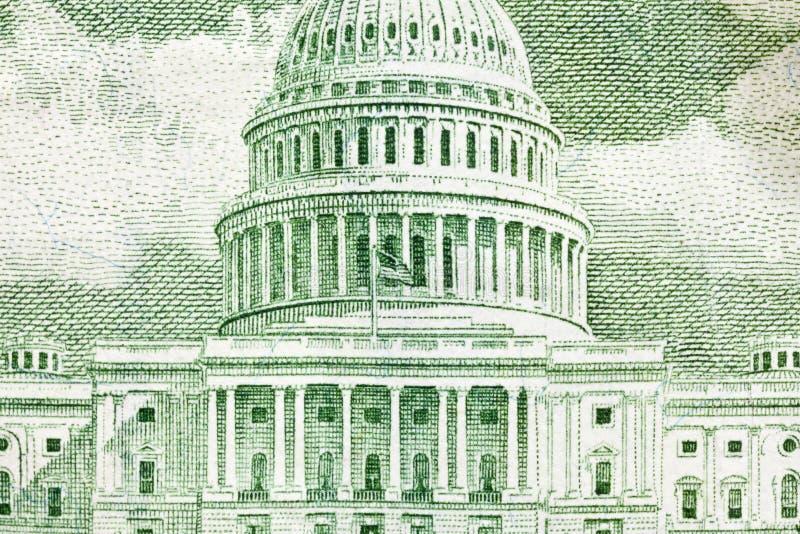 大厦国会大厦宏指令我们 免版税库存图片