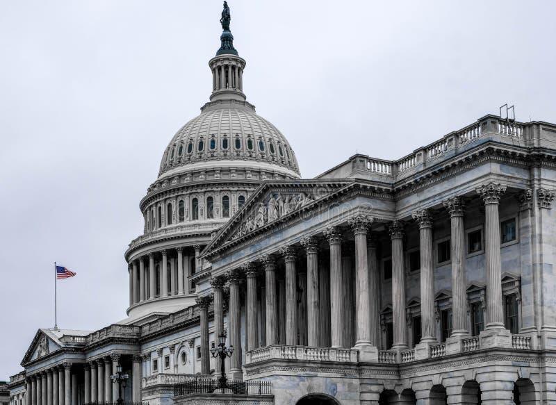 大厦国会大厦状态团结了 免版税库存照片