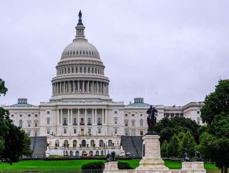 大厦国会大厦dc我们华盛顿 库存图片
