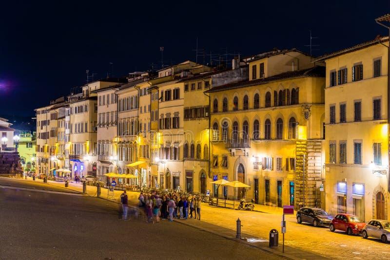 大厦在佛罗伦萨的市中心 免版税图库摄影