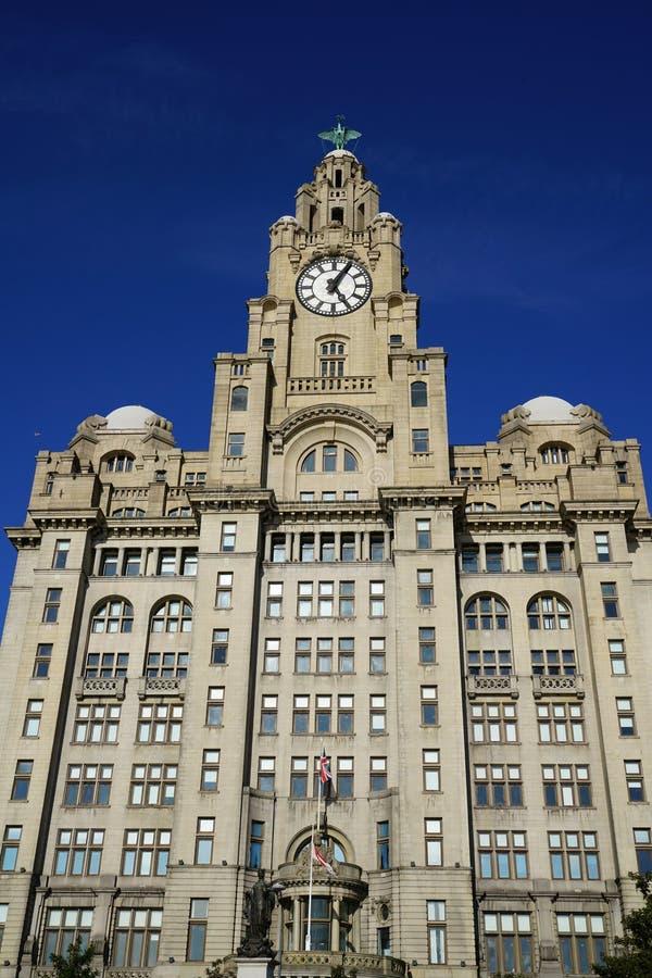 大厦在利物浦 免版税图库摄影