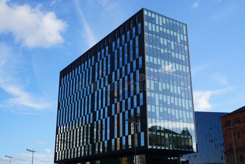 大厦在利物浦 免版税库存照片