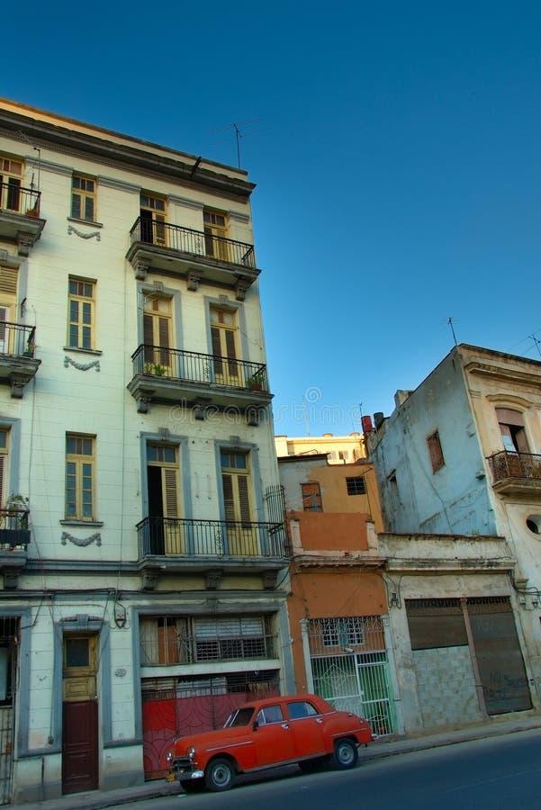 大厦在哈瓦那市 图库摄影