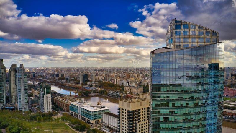 大厦在布宜诺斯艾利斯 库存照片