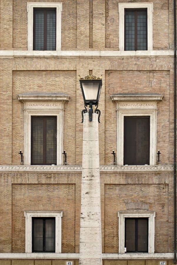 大厦在罗马 意大利 免版税库存图片