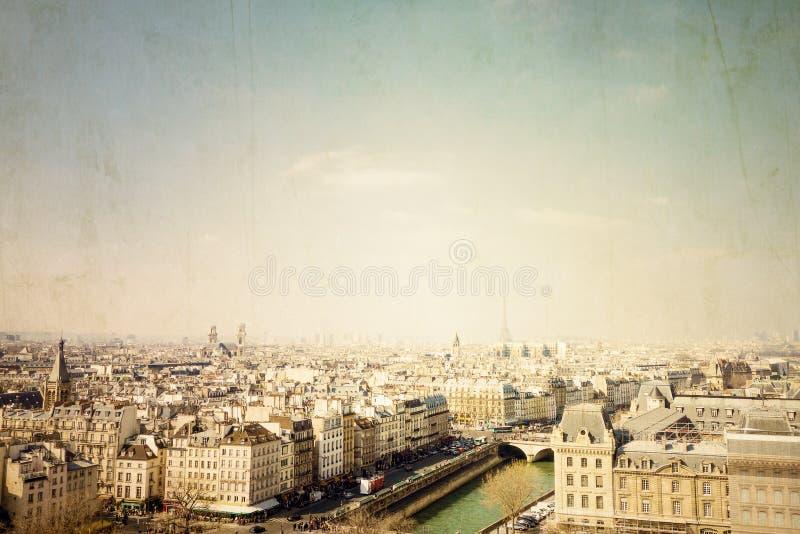 大厦在巴黎,法国欧洲 库存图片
