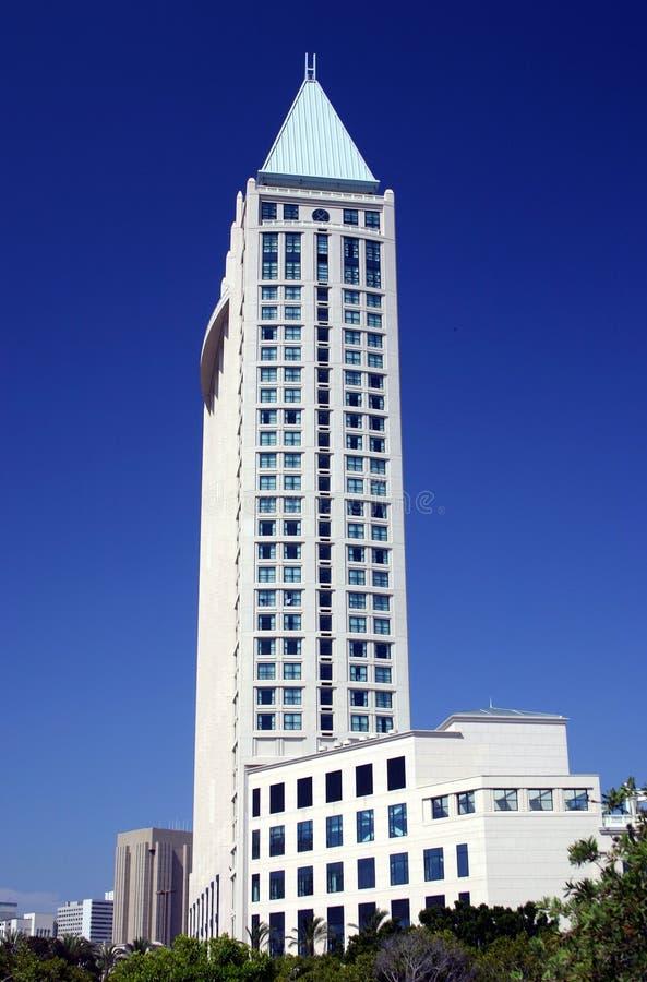 大厦地亚哥街市圣 免版税库存照片