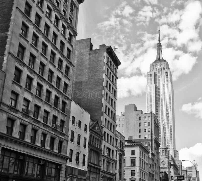 大厦城市纽约 图库摄影