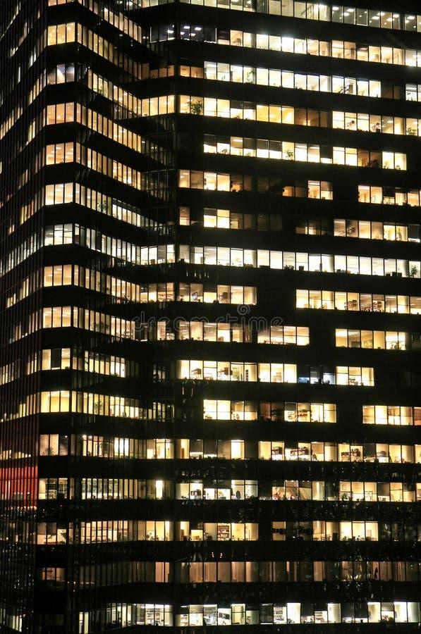 大厦城市高新的办公室上升约克 免版税库存照片