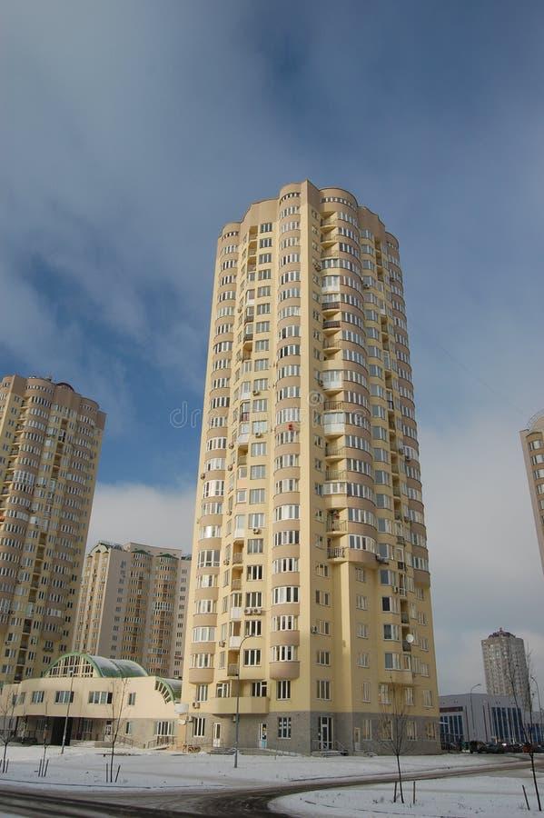 大厦基辅现代乌克兰 免版税库存图片