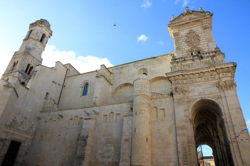 大厦大教堂欧洲意大利sassari 免版税库存图片