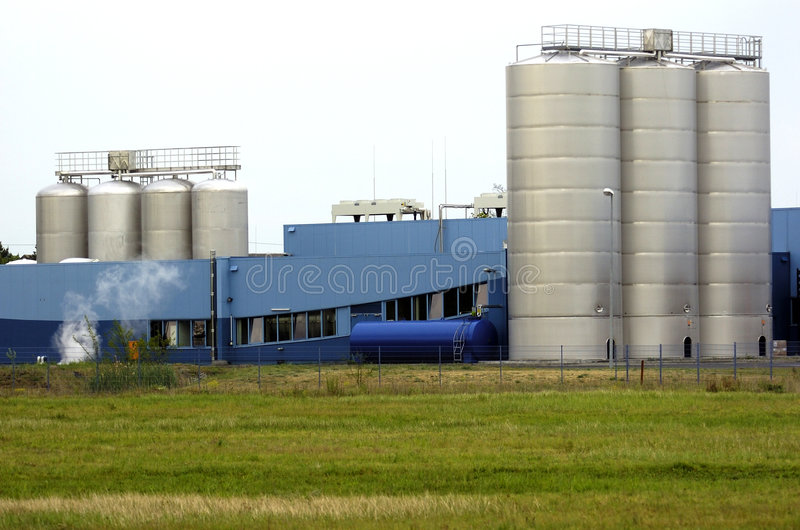 大厦工厂 库存图片