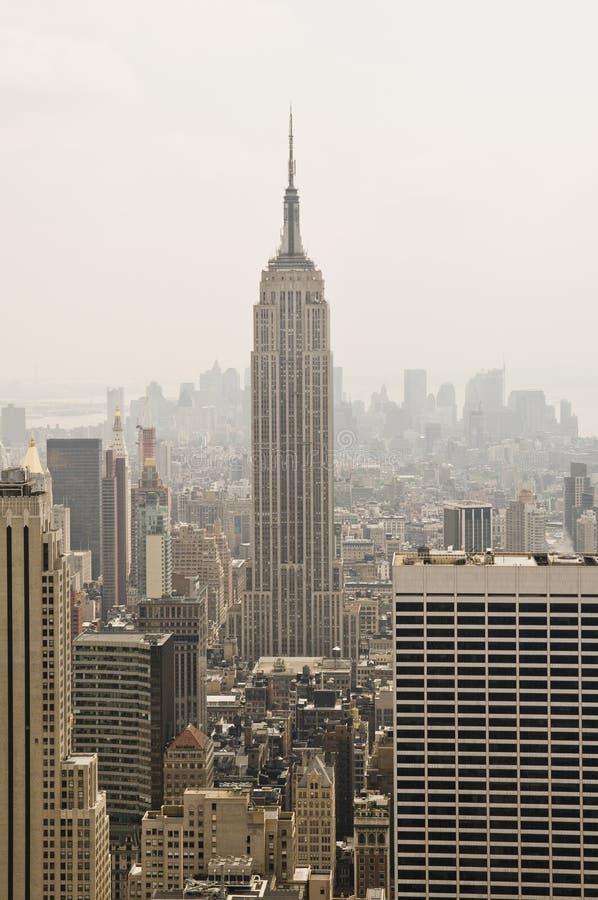 大厦帝国岩石状态顶层 免版税库存照片