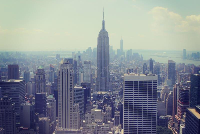 大厦帝国曼哈顿新的状态美国约克 库存照片