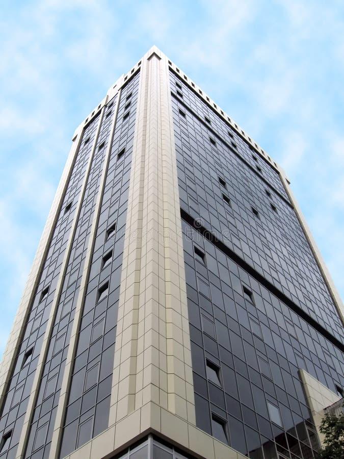 大厦庄园玻璃实际反射性都市 免版税库存图片