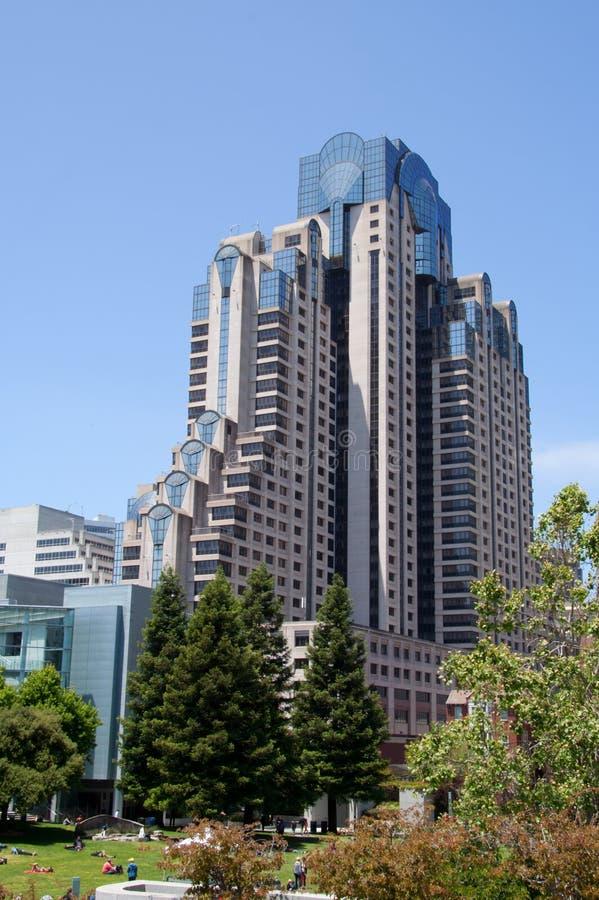 大厦弗朗西斯科现代圣 免版税图库摄影