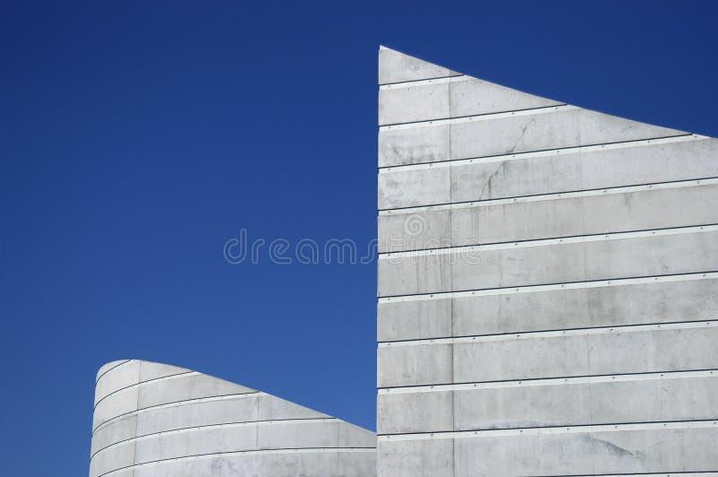 大厦形状 免版税库存图片