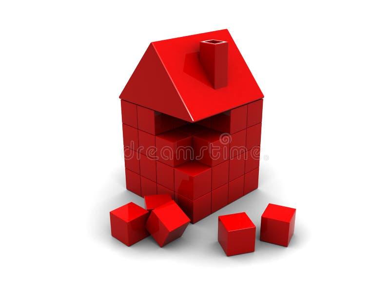 大厦房子 向量例证