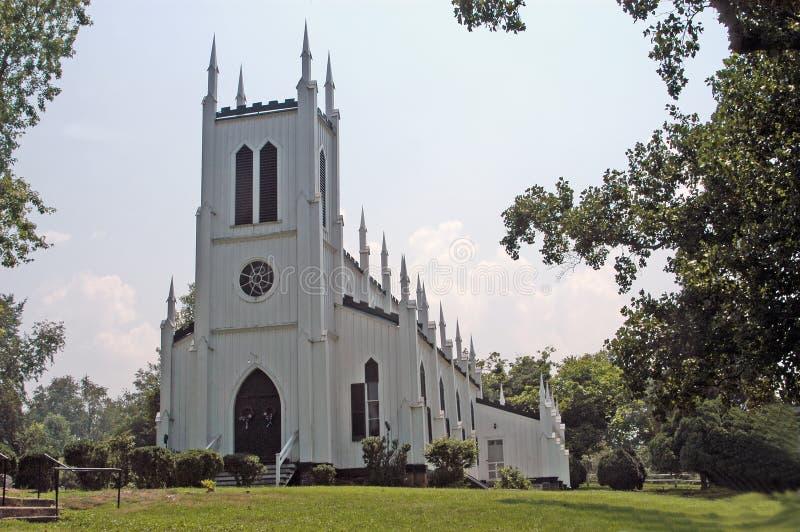大厦教会 免版税库存图片
