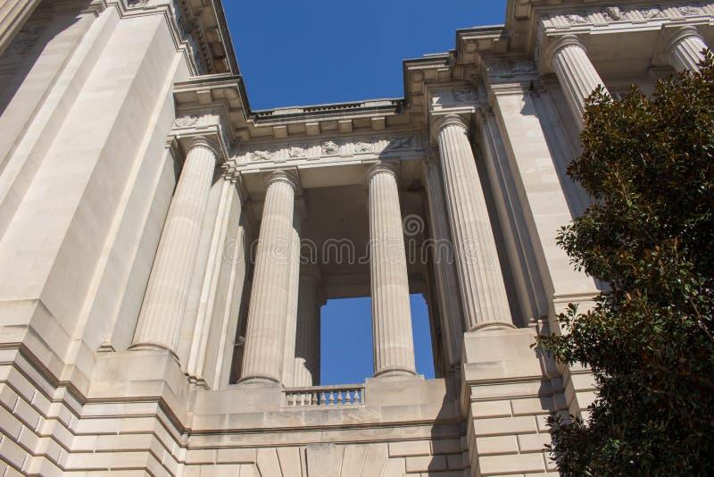 大厦柱子  免版税库存图片