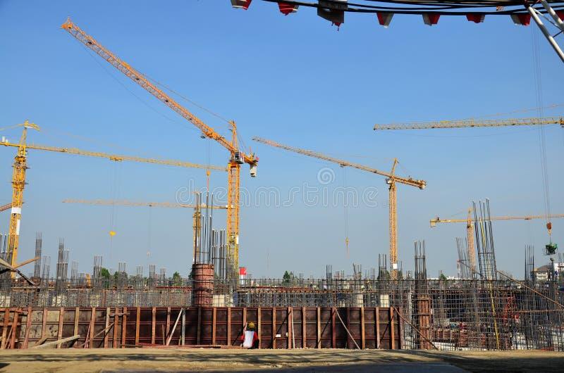 大厦泰国的企业建筑 库存图片