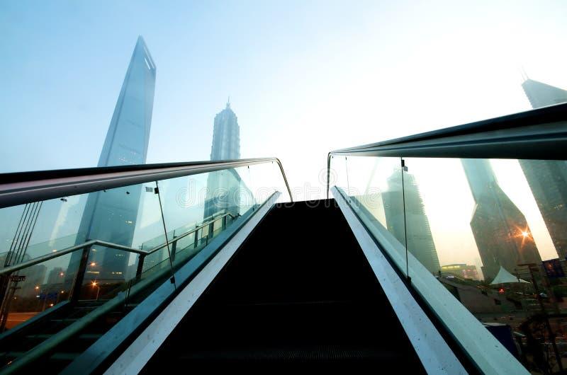 大厦现代上海 免版税库存照片