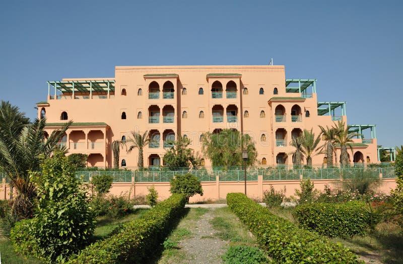 大厦现代的马拉喀什 免版税库存照片