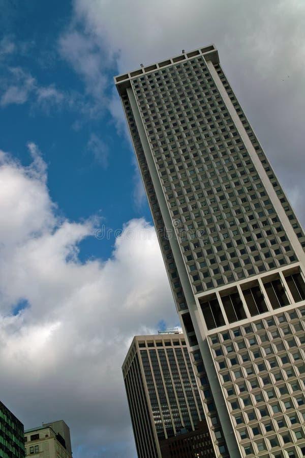大厦现代纽约 免版税库存图片