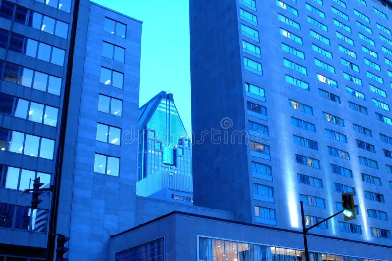 大厦现代蒙特利尔 免版税库存图片