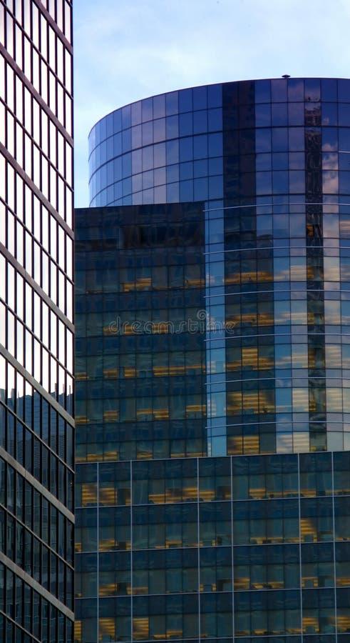 大厦现代蒙特利尔 库存照片