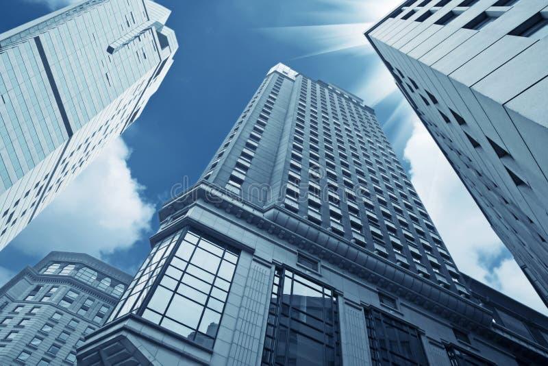 大厦现代都市 库存图片