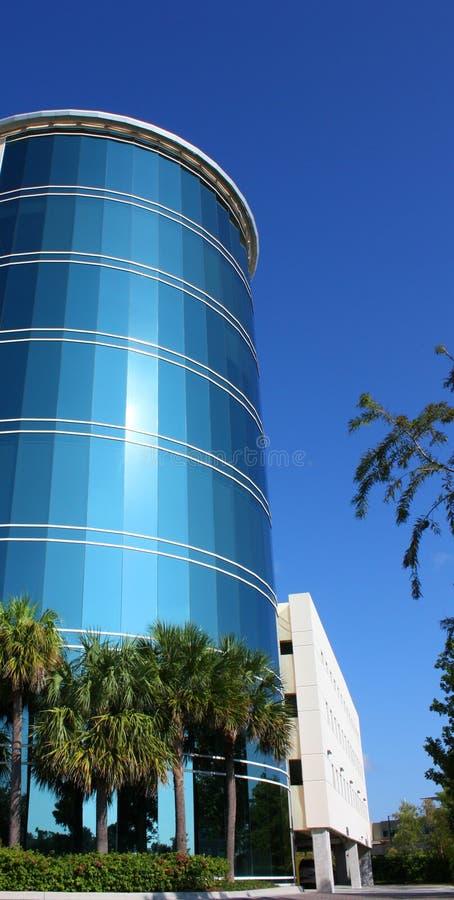 大厦玻璃办公室 免版税库存照片