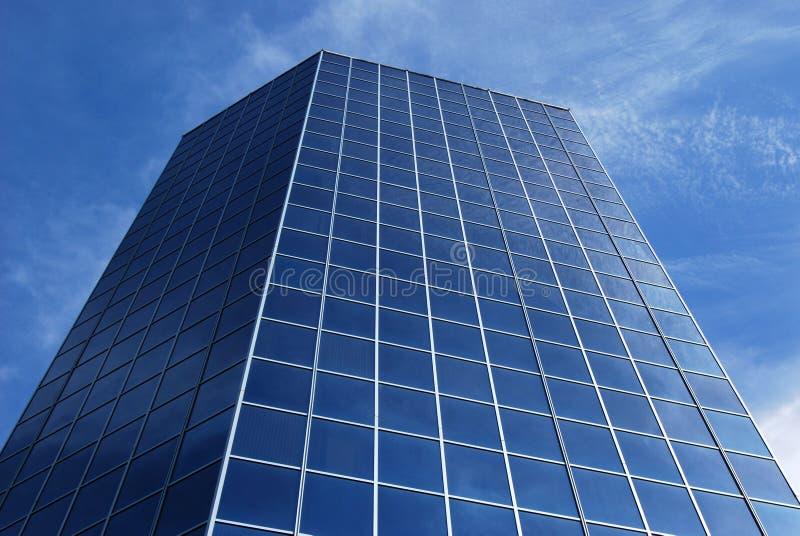 大厦玻璃现代办公室 免版税库存照片