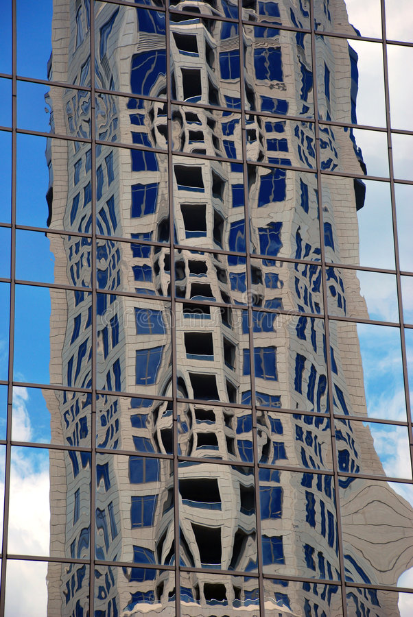 大厦玻璃 库存照片