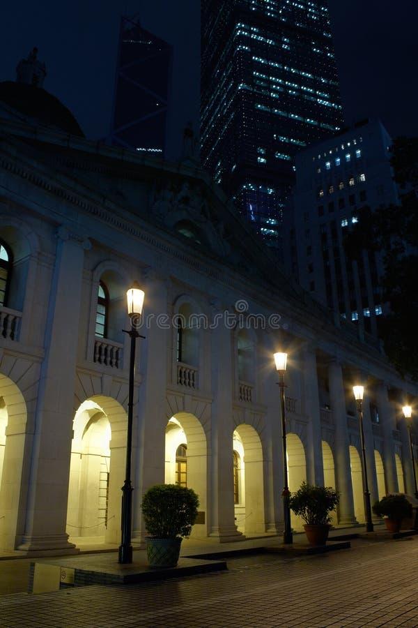 大厦理事会合法的香港 库存图片