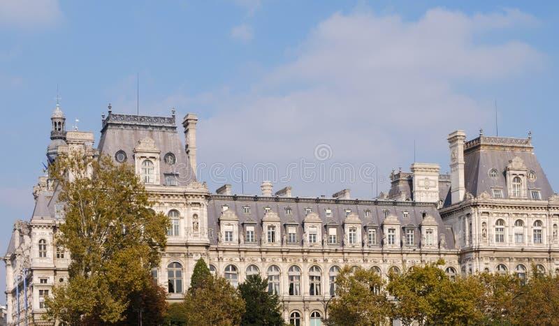 大厦的巴洛克式的建筑学 图库摄影