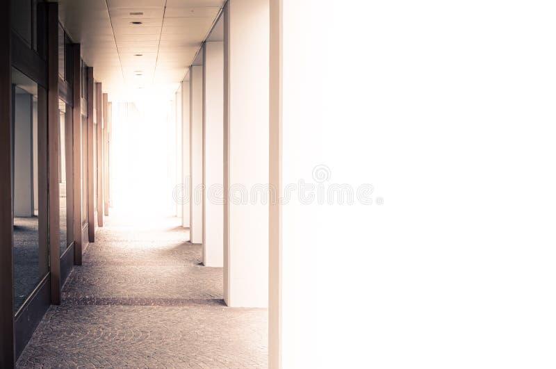 大厦的段落的概念性背景 库存照片