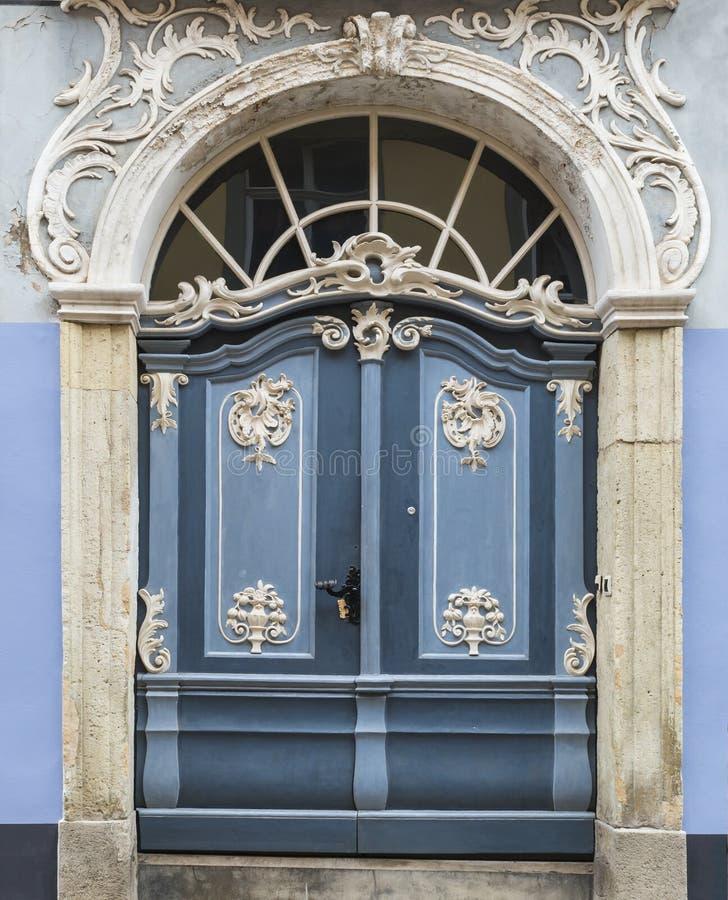 大厦的片段在斯堪的纳维亚现代派样式的 库存照片
