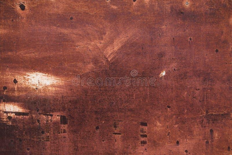 大厦的生锈的盘区ont嗯边 免版税库存照片