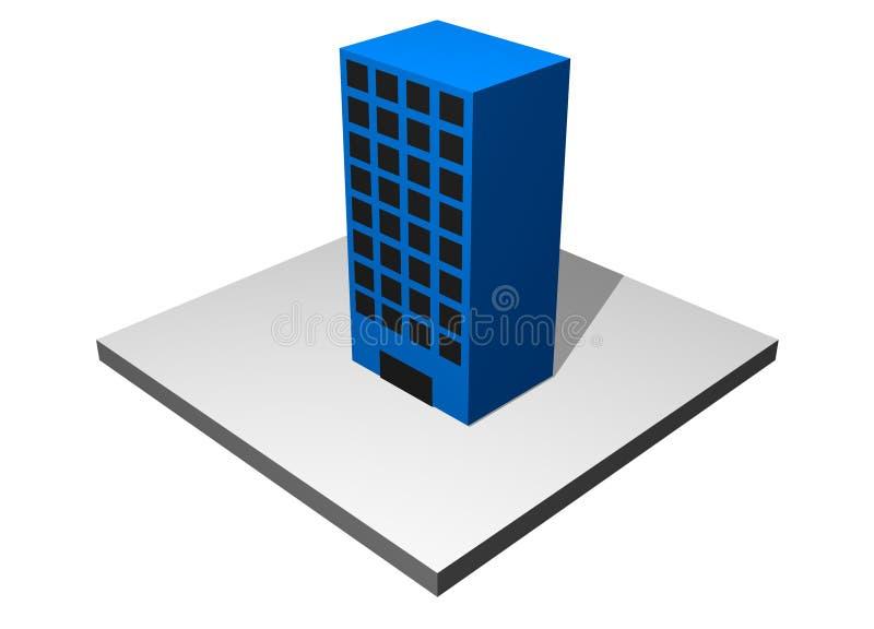 大厦绘制行业制造 向量例证