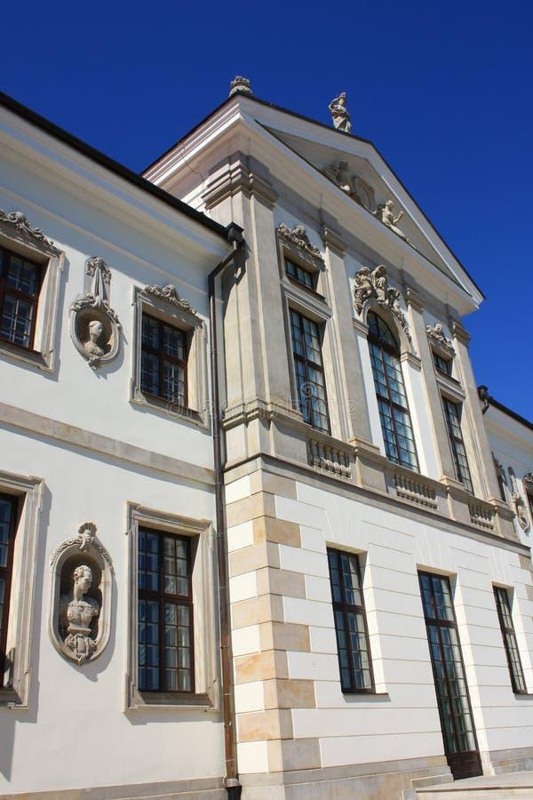 大厦肖邦有历史的博物馆 库存图片