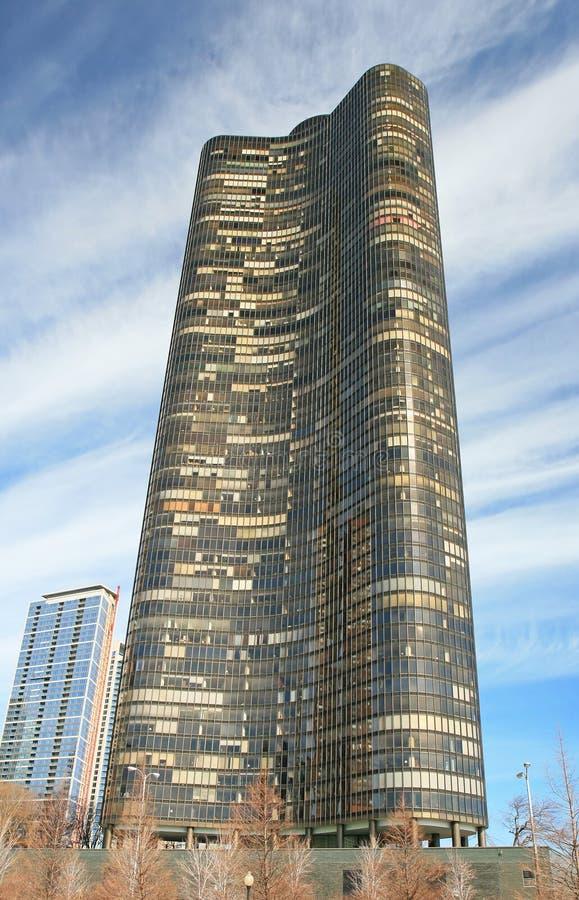 大厦芝加哥高层 免版税库存照片