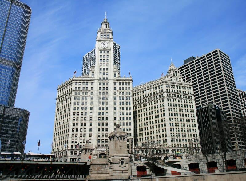 大厦芝加哥高层 免版税库存图片