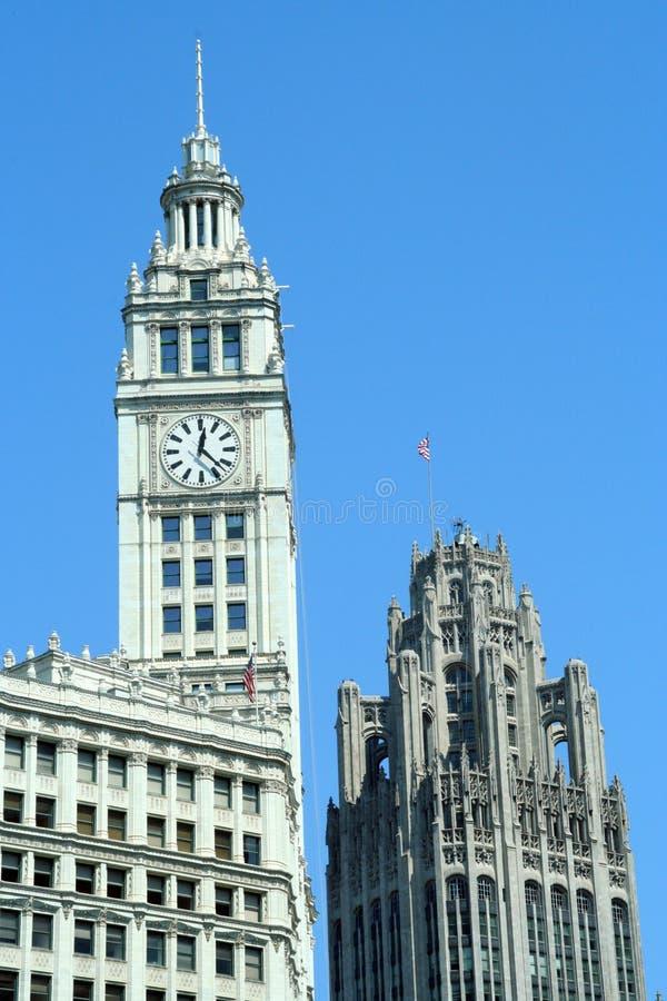 大厦芝加哥 免版税图库摄影