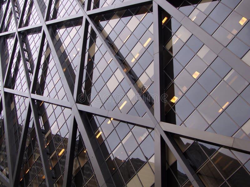 大厦详细资料现代办公室 免版税图库摄影