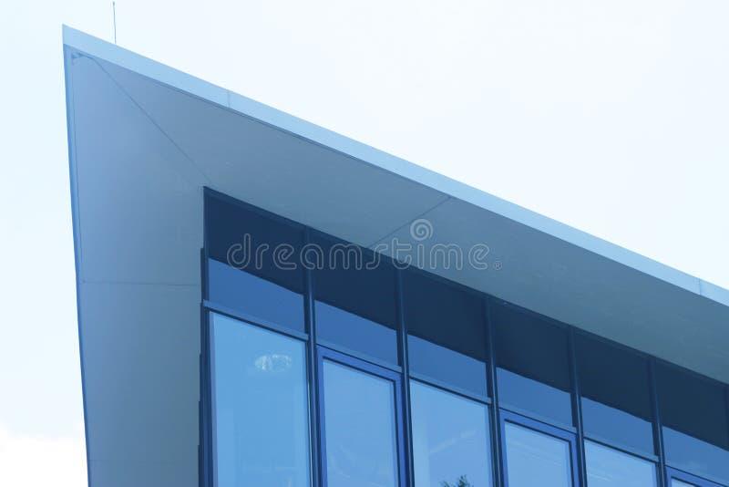 大厦边缘现代三角 免版税图库摄影