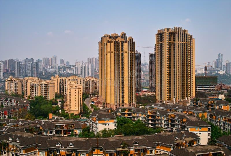 大厦重庆 免版税图库摄影