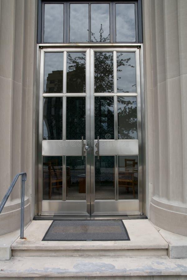 大厦门办公室 免版税库存照片
