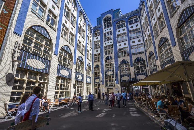 大厦门面在Hackescher Markt 库存照片