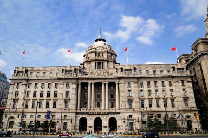 大厦障壁hsbc上海 免版税库存照片
